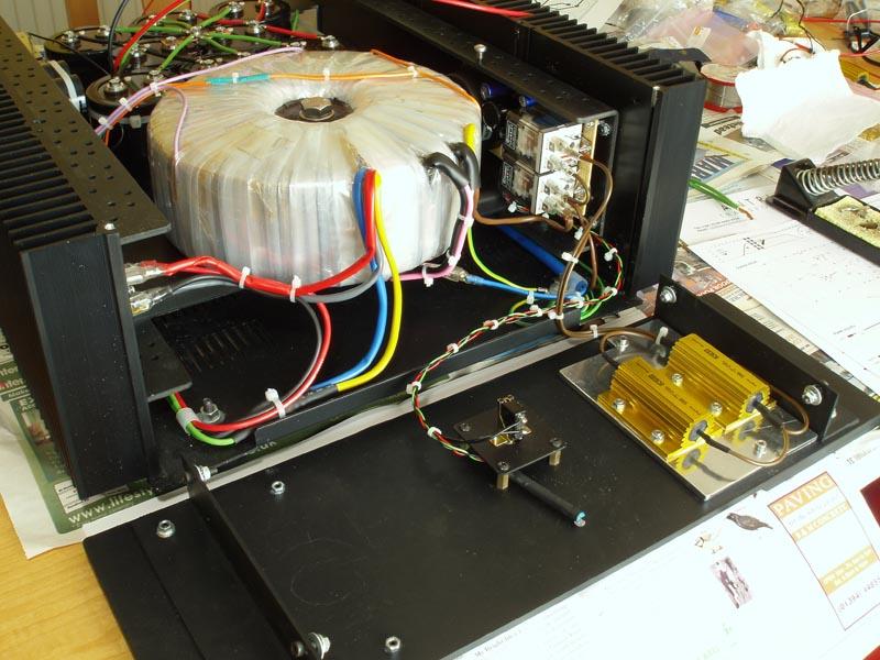 Hypex UcD700 power amp build