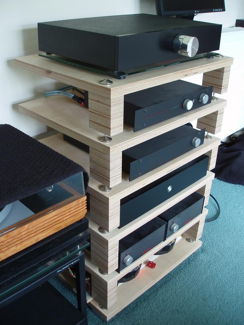 a new hifi rack. Black Bedroom Furniture Sets. Home Design Ideas